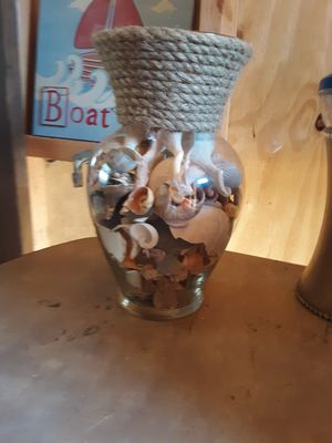 Shell Vase for Sale in Chesapeake, VA