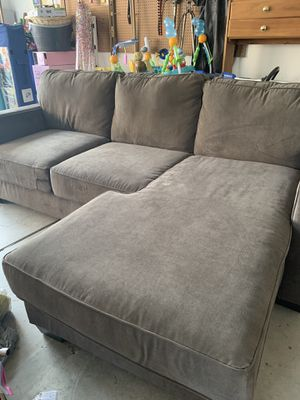 Dark Gray Sectional Couch for Sale in Elk Grove, CA