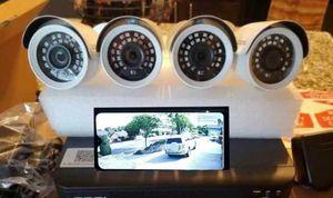 4 x Security Cameras-Se Habla Espanol for Sale in Fort Worth, TX