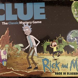 Rick And Morty Clue for Sale in Aliso Viejo, CA