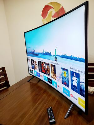 """CURVED!!!! Samsung 65"""" RU7300 Smart TV UHD HDR 4K!!! BEAUTIFULLY DESIGNED!!! for Sale in Mesa, AZ"""
