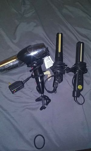 Andis, Revlon hair straightener and a remington hair dryer. for Sale in Columbus, OH