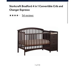 Baby crib and changing table for Sale in Lockport, IL