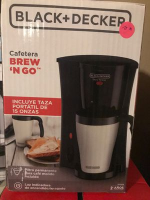 New brew and go coffee maker cup included for Sale in Dallas, TX