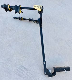 Bicycle rack 2 inch receiver holds two bikes for Sale in Las Vegas, NV
