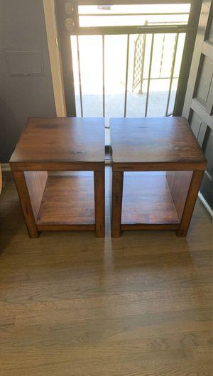 Wood End Tables for Sale in Denver, CO