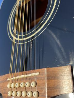12 String Electric Acoustic Guitar cut away design (requinto) for Sale in Huntington Park,  CA