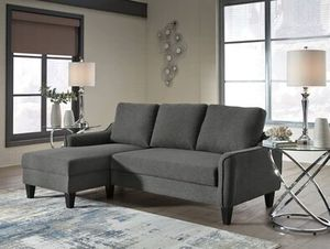 Jarreau Gray Sofa Chaise Sleeper for Sale in Pflugerville, TX