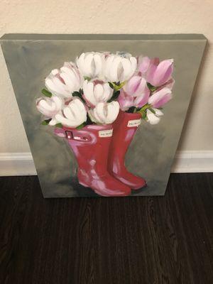 Tulip, boots canvas for Sale in Atlanta, GA