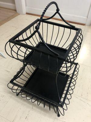 Decorative metal basket for Sale in Rockville, MD