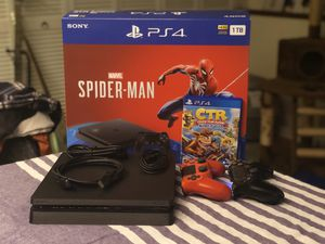 PS4 1tb console w/ games and accessories for Sale in Bellevue, WA