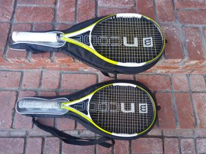 Wilson tennis racket ncode n pro surge qty 2 for Sale in Anaheim, CA