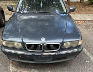 2001 Bmw 740 iL (can be driven ) for Sale in Woodbine, GA