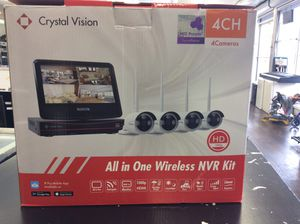 Crystal Vision all in one Wireless NVR KIT for Sale in Riverdale, IL