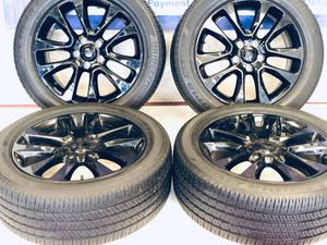 """20"""" Jeep Grand Cherokee 9168 Hollander. wheels and tires package deal 1199.00 only 𝐖𝐄𝐑𝐄 𝐋𝐎𝐂𝐀𝐓𝐄𝐃 𝐀𝐓: 📍 32760 𝐕𝐀𝐍 𝐃YKE AVE WAREEN , 𝐌𝐈 𝟒𝟖𝟎93 ☎ (𝟓 for Sale in Macomb, MI"""