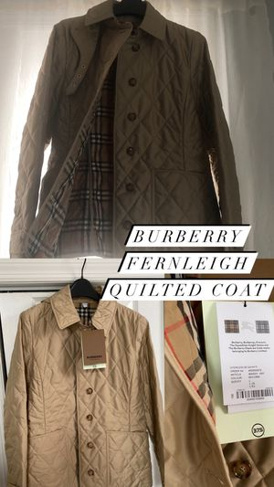 Burberry Fernleigh Quilted Coat for Sale in Yonkers, NY
