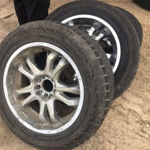 I'm Seeking This Rims Chevy Unerversel Tires S 20'' For Sale for Sale in Ville Platte, LA
