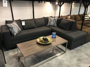 Charcoal Grey Sectional Sofa for Sale in Hialeah, FL