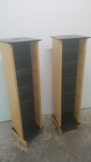 Two CD Shelves $50 each for Sale in Hollywood, FL