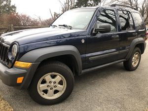 2006 JEEP LIBERTY - 130 K MILES - AUTOMATIC for Sale in VERNON ROCKVL, CT