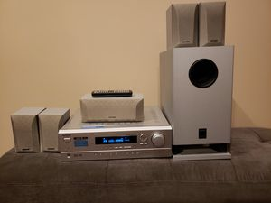 ONKYO 5.1ch Home Theater Speaker Package - 600W AV Receiver for Sale in Atlanta, GA