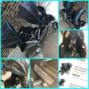 Graco Duoglider Stroller with car seat travel system for Sale in Casper, WY
