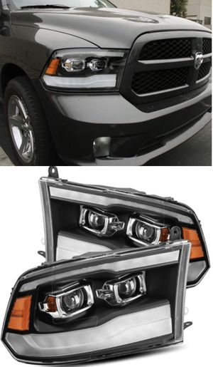 09-18 dodge ram 1500 2500 3500 dual projector headlights for Sale in Los Angeles, CA