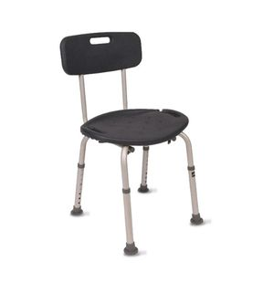 Bath chair & shower seat with back for Sale in Las Vegas, NV
