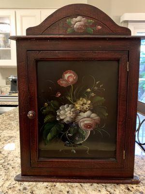 Corner wall cabinet antique for Sale in Alexandria, VA