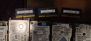 500 gb sata hard drives, 4 gb ram DDR3 and more for Sale in Takoma Park, MD