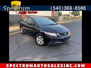 2015 Honda Civic Sedan for Sale in Fredericksburg, VA