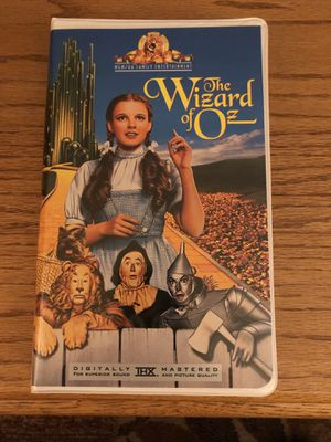 VHS Movie Wizard of Oz for Sale in Albuquerque, NM