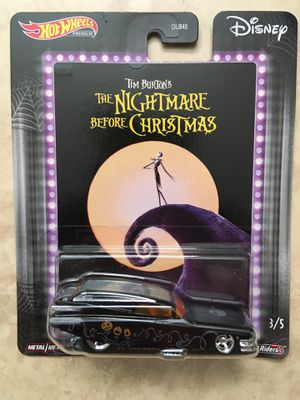 Hotwheels Disney Nightmare Before Christmas 59 Cadillac Funny Car 1 for Sale in Levittown, NY