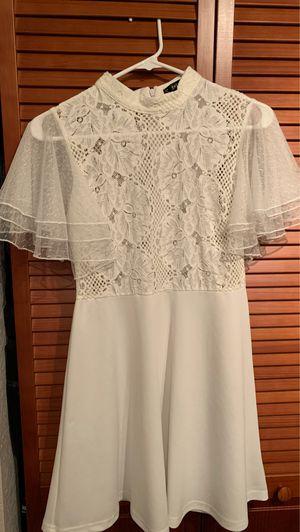 White, SHEIN, elegant dress for Sale in Miami, FL