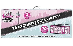 LOL Surprise! Amazing Surprise 14 Exclusive Dolls 70+ Surprises 2 Playsets New for Sale in Houston, TX