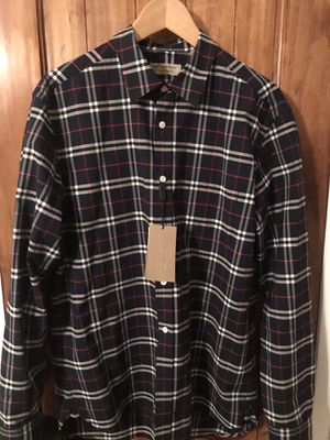 Burberry Alexander London shirt. Size Xl. Authentic. Retails $313 selling $195 for Sale in Commerce, CA