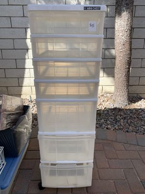 7 Plastic Drawer Mini Chest for Sale in Cerritos, CA