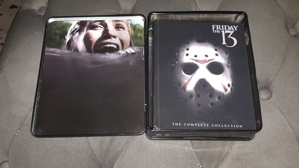 Friday the 13th Boxset (Horror Movie Blu-Ray Out of Print)