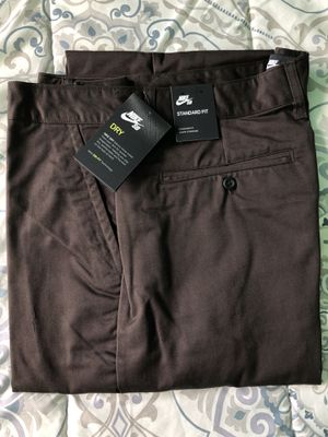 Nike Sb Icon Chino Pants Brown Size 36 New with tags for Sale in Hawthorne, CA