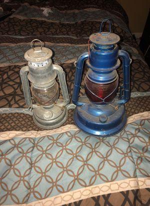 Dietz oil lamps antique for Sale in Philadelphia, PA