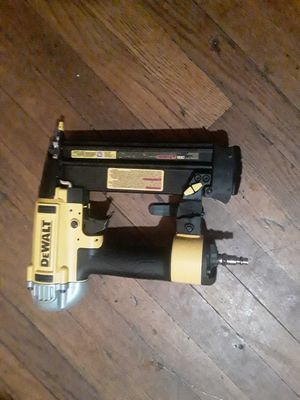 Dewalt finish nailer air tool for Sale in New Haven, CT