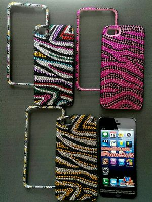Bling...Bling ...Iphone 5/5S Protector , two piece case for Sale in Scottsdale, AZ