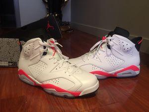 Jordan retro VI infrared for Sale in Philadelphia, PA