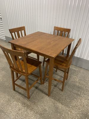 Wooden Counter height dinning set for Sale in Upper Marlboro, MD