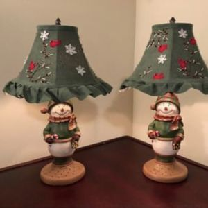 Beautiful Christmas Lamp/ each for $15 for Sale in Fairfax, VA