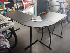 Black corner desk on sale today for $59.99 for Sale in Phoenix, AZ