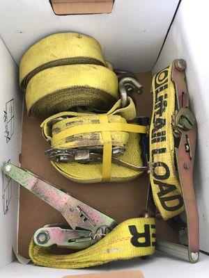 3 heavy duty straps for Sale in Hilo, HI