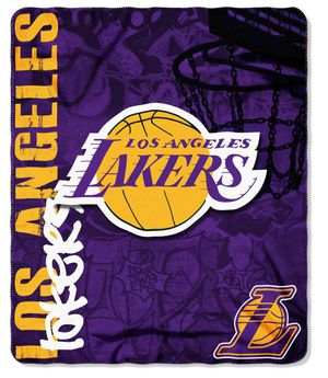 Lakers Fleece Throw for Sale in Glendale, CA