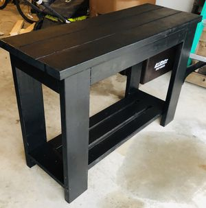 Farmhouse Console Table/Sofa Table- Customizable - Pick your color! for Sale in Jacksonville, NC