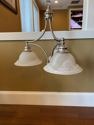 Gorgeous silver chandelier for Sale in Issaquah, WA